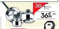 Oferta de Batería de cocina por 36,99€