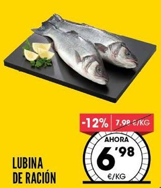 Oferta de Lubina por 6,98€