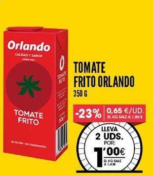 Oferta de Tomate frito Orlando por 1,43€
