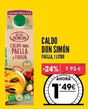 Oferta de Caldo Don Simón por 1,49€