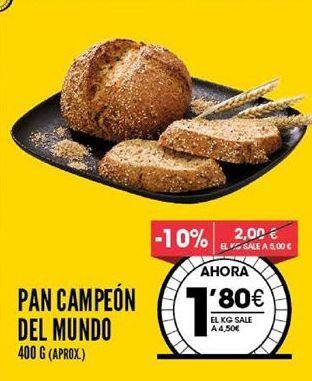 Oferta de Pan por 1,8€