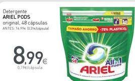 Oferta de Detergente en cápsulas Ariel por 8,99€