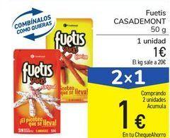 Oferta de Fuetis Casademont por 1€