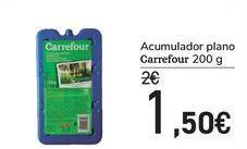 Oferta de Acumulador plano Carrefour  por 1,5€