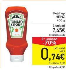 Oferta de Ketchup HEINZ por 2,45€