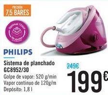 Oferta de Sistema de planchado GC8952/30 PHILIPS por 199€