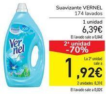 Oferta de Suavizante Vernel por 6,39€