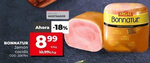 Oferta de Jamón cocido Argal por 8,99€