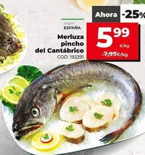 Oferta de Merluza por 5,99€