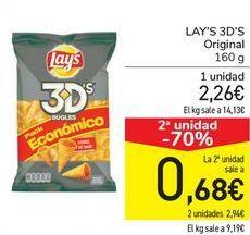 Oferta de LAY'S 3DS Original  por 2,26€