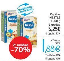 Oferta de Papilla Nestlé por 6,25€