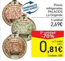 Oferta de Pizzas refrigeradas PALACIOS La Originale por 2,69€