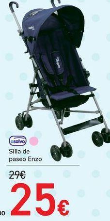 Oferta de Silla de paseo Enzo Asalvo  por 25€