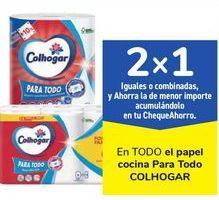 Oferta de En TODO el papel cocina Para Rodo COLHOGAR, iguales o combinados  por