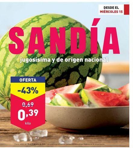 Oferta de Sandía por 0,39€
