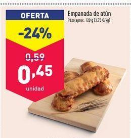 Oferta de Empanada de atún por 0,45€