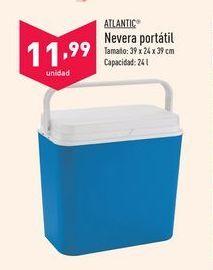 Oferta de Nevera portátil Atlantic por 11,99€