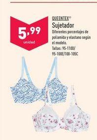 Oferta de Sujetador queentex por 5,99€