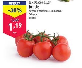 Oferta de Tomates aldi por 1,19€