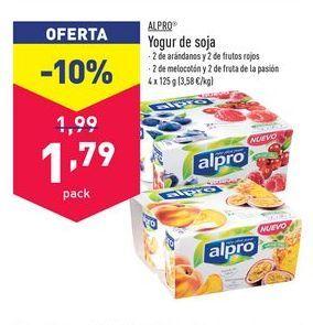 Oferta de Yogur de soja Alpro por 1,79€
