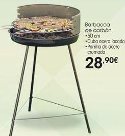 Oferta de Barbacoa de carbón por 28,9€