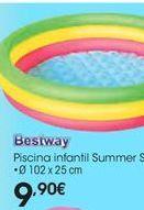 Oferta de Piscina infantil Bestway por 9,9€