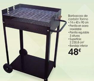 Oferta de Barbacoa de carbón por 48€