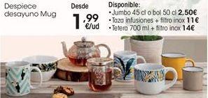 Oferta de Desayuno por 1,99€