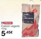 Oferta de Carbón vegetal eroski por 5,45€