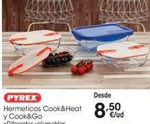 Oferta de Bote hermético Pyrex por 8,5€
