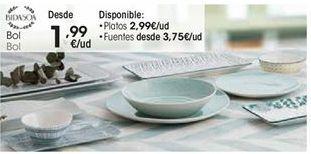 Oferta de Vajilla por 1,99€