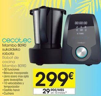 Oferta de Robot de cocina cecotec por 299€