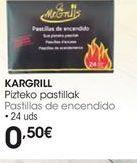 Oferta de Pastillas de encendido por 0,5€
