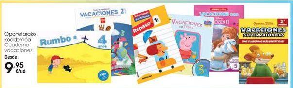 Oferta de Cuaderno de vacaciones por 9,95€