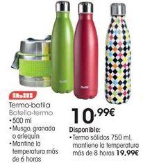Oferta de Botella de aluminio Ibili por 10,99€