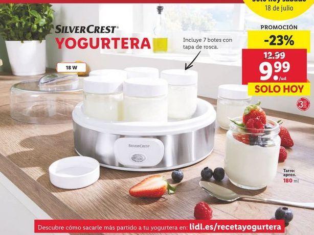 Oferta de Yogurtera SilverCrest por 9,99€