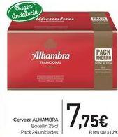 Oferta de Cerveza Alhambra por 7,75€