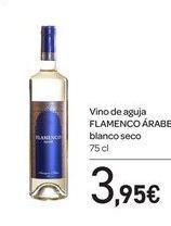 Oferta de Vino de aguja FLAMENCO ÁRABE blanco seco por 3,95€