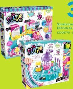 Oferta de Slimelicious factory So Slime Fábrica de slime Mix & Match por 34,99€