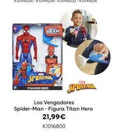 Oferta de Los Vengadores Spider-Man - Figura Titan Hero por 21,99€