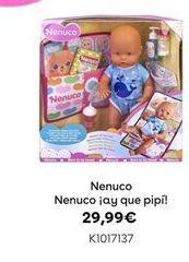 Oferta de Nenuco ¡ay que pipi!  por 29,99€