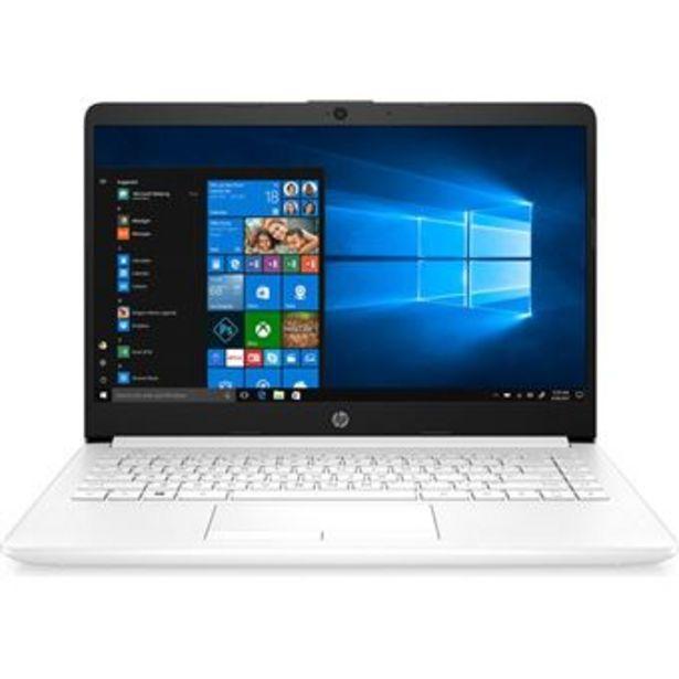 Oferta de Portátil HP Notebook 14-dk0009ns 14'' Blanco por 522,41€