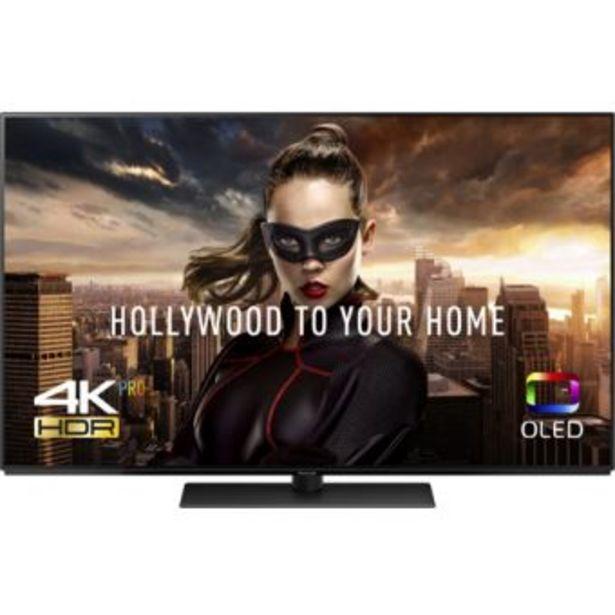 """Oferta de TV OLED 65"""" Panasonic TX-65FZ800E 4K UHD HDR Smart TV por 1499,95€"""