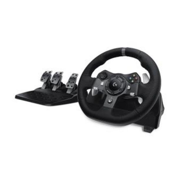 Oferta de Volante Logitech G920 Driving Force PC, Xbox One/S/X por 299,99€