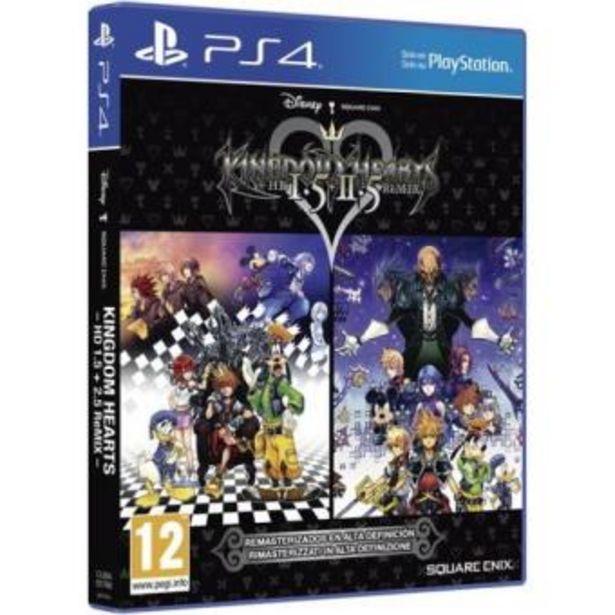 Oferta de Kingdom Hearts HD 1.5 + Kingdom Hearts 2.5 Remix PS4 por 12,74€