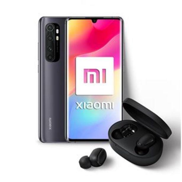 Oferta de Xiaomi Mi Note 10 Lite 6,47'' Negro + Auriculares por 329,75€