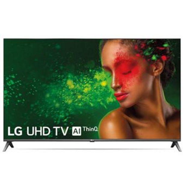 Oferta de TV LED 65'' LG 65UM7510 IA 4K UHD HDR Smart TV por 664,93€