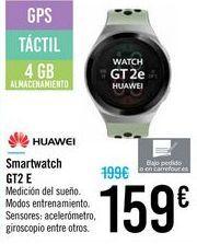 Oferta de Smartwatch GT2 E HUAWEI por 159€
