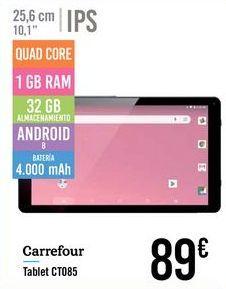 Oferta de Tablet CT085 Carrefour por 89€