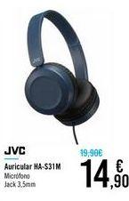 Oferta de Auricular HS-S31M JVC por 14,9€
